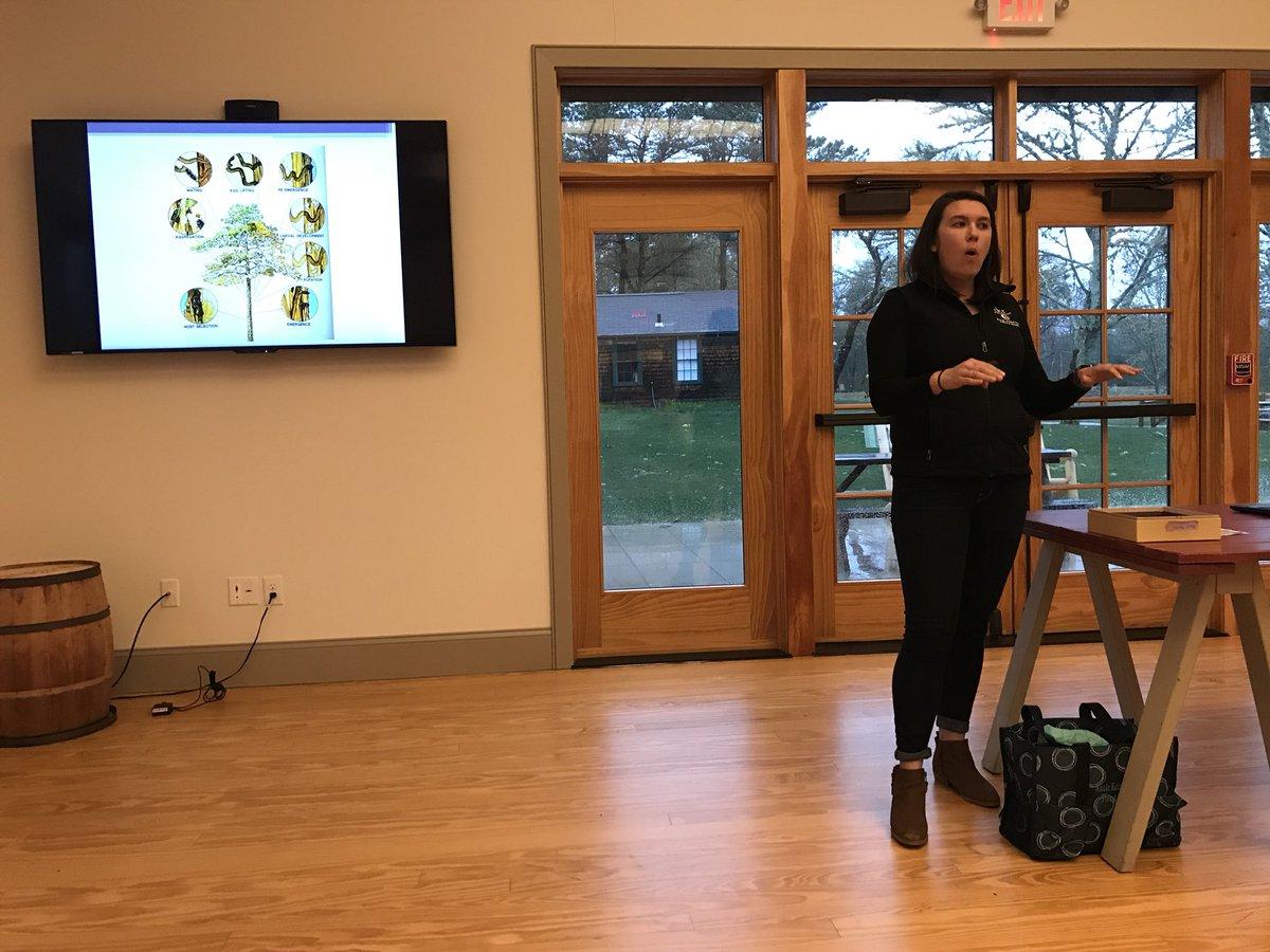 DCR Forester Nicole Keleher talks about SPB in MA.