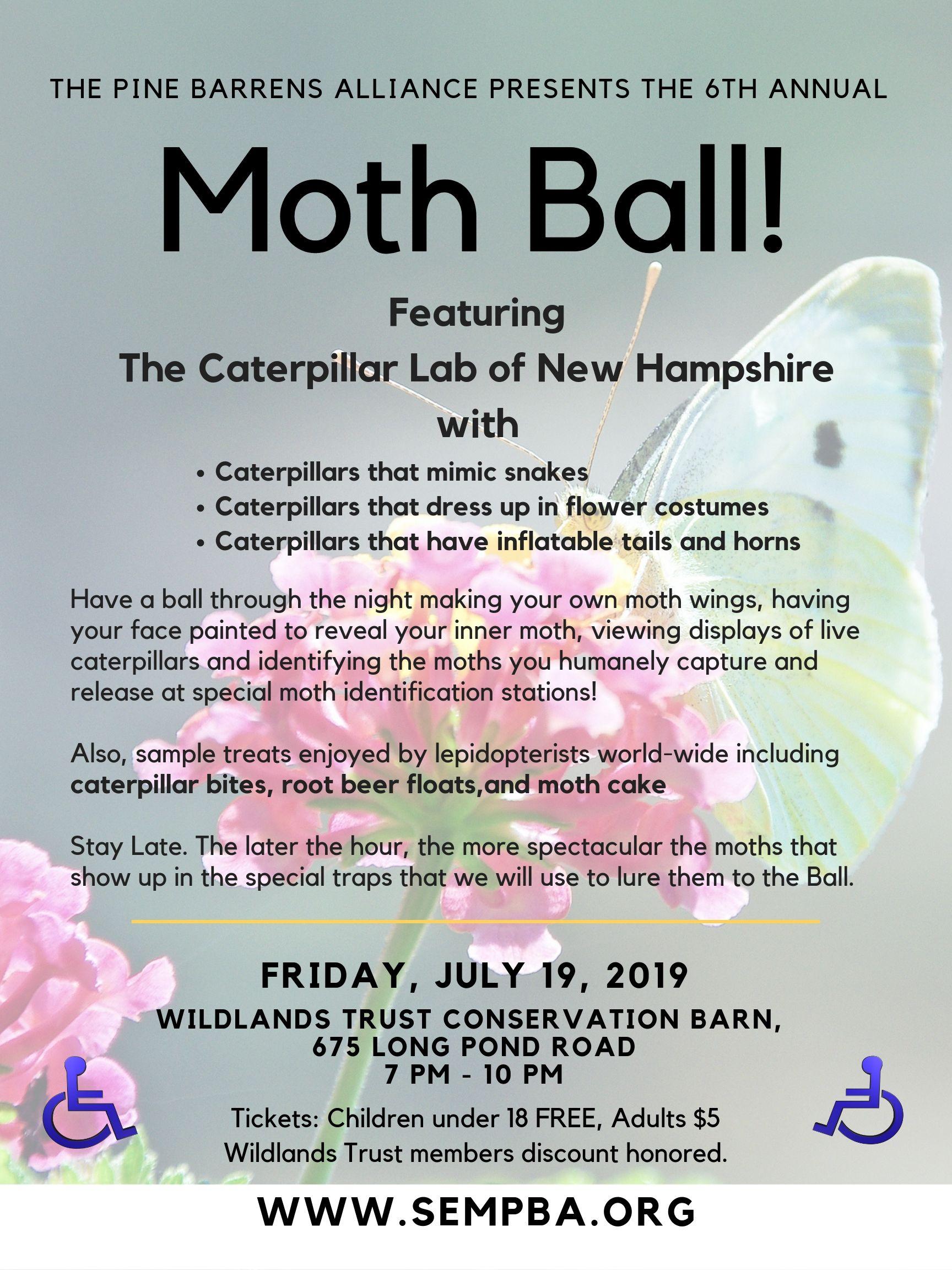 6th annual Moth Ball